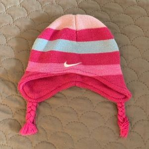 Nike baby girl winter hat.